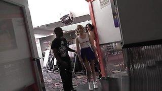 Teen has interracial anal
