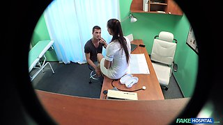 Female doctor filmed when she gets laid with patient